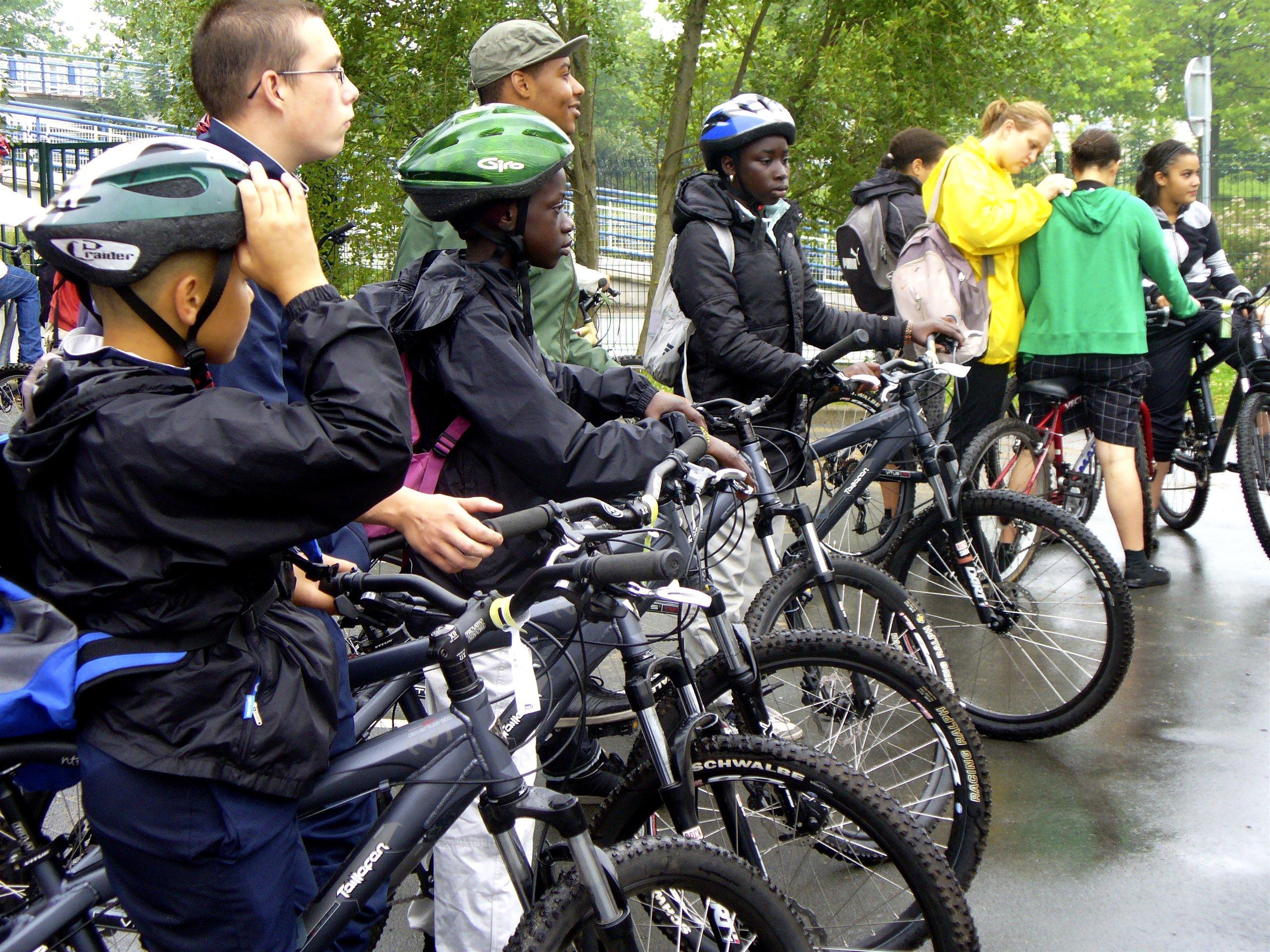 vélos 2009 départ
